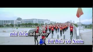 Karaoke HD Nối Vòng Tay Lớn Remix   Hồ Quang Hiếu Ft Thúy Khanh