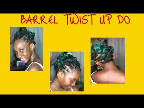 Loc Style: BARREL TWISTS