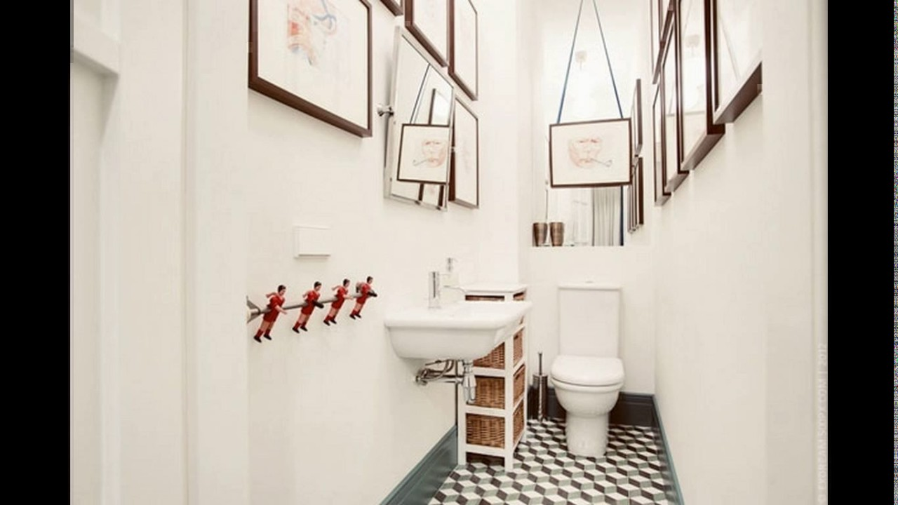 Small long narrow bathroom design youtube - Narrow toilets for small bathrooms ...