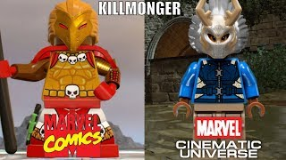 Lego Marvel Comics VS Lego MCU!!! - VILLAINS EDITION