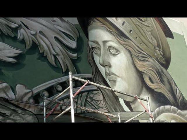"""Athena"""": prende vita a Catania il nuovo progetto di Street-Art di Antonio Anc"""