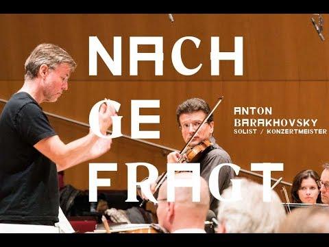 Nachgefragt: Anton Barakhovsky  (Solist und Konzertmeister)