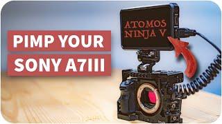 Atomos Ninja V - DARUM macht er die A7III DEUTLICH besser