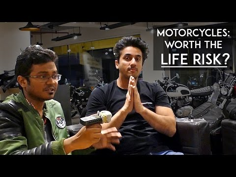 Mumbiker Nikhil | Motorcycles: Worth the life Risk? | Ft. Fuzz rides | RWR
