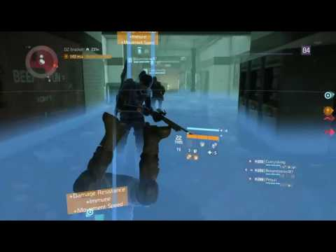 Th Division (PS4) Dark Zone Rogue killing then going Rogue with max BFB Sticky Bomb