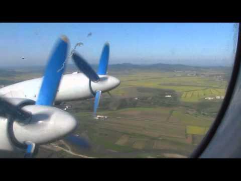 Pyongyang to Samjiyon on an Ilyushin IL-18