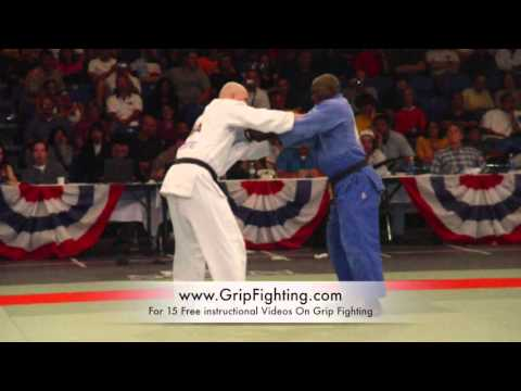 How To Beat The Stiff Arm In Judo and BJJ
