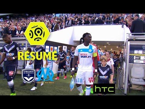 Girondins de Bordeaux - Olympique de Marseille (1-1)  - Résumé - (GdB - OM) / 2016-17