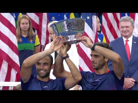 Men's Doubles Finals Ceremony And Post Game Interview | 2019 US Open