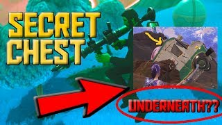 SECRET CHEST UNDER ICE CREAM TRUCK!!! Legendary loot? Fortnite Battle Royale