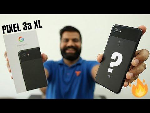Google Pixel 3a XL Unboxing & First Look - The Camera Magic 📸🔥🔥🔥