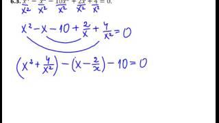 Занятие 6 (решение уравнений старших степеней)