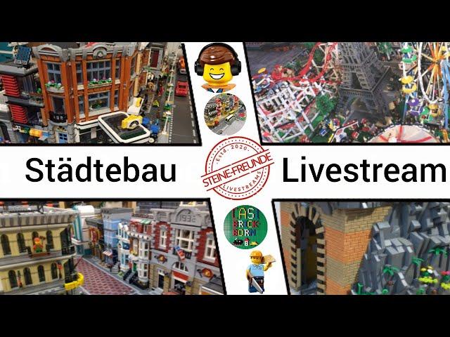 Städtebau Livestream 🔴
