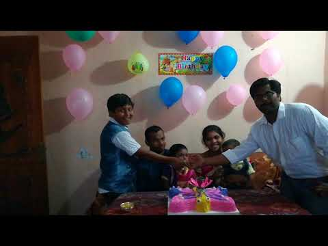 Neela 4th birthday function at nizampatnam