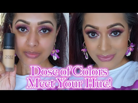 REVIEW & DEMO NEW Dose Of Colors Meet Your Hue foundaton thumbnail
