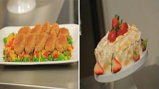 كروكيت البطاطس بالبصل المكرمل و الجبنة - تورتة البطاطا بالشكولاتة و المارينج | حلو و حادق حلقة كاملة