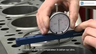 Mesure du dépassement du piston - Motorservice Group