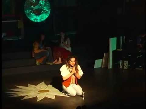 "Woof ""HAIR The Musical"" performer Justin Choriki"