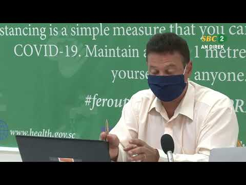 SBC| Live Press Conference-Department of Health-30.07.2020