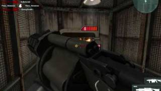 Unbelievables+ in Combat Arms Quarantine with M32 and M32 Incendiary Bomb ( Old video '09)