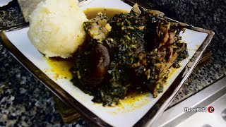 How to Cook Nigerian  Vegetable Soup