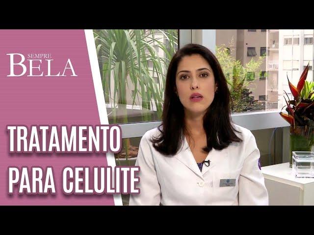 Celulite e Fibrose: Tratamento Com Ondas de Choque - Sempre Bela (13/01/19)
