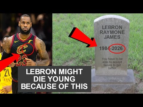 This Is Why Lebron Will Die Soon (Why Do NBA Players Die Young?)