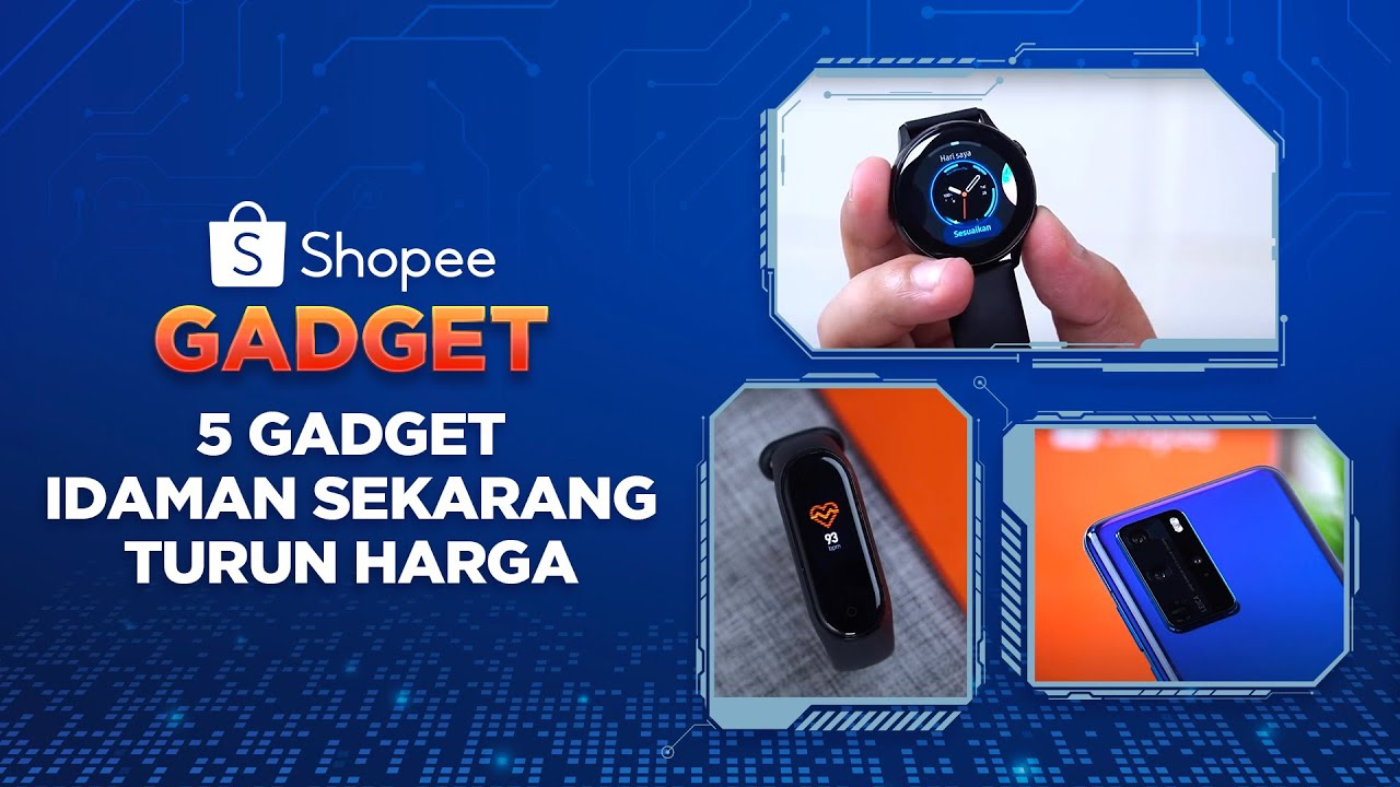 5 Gadget Idaman Sekarang Turun Harga! | #ShopeeGadget