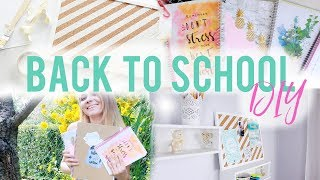 BACK TO SCHOOL UNI DIY 2017 zeszyty i inne notebooks supplies