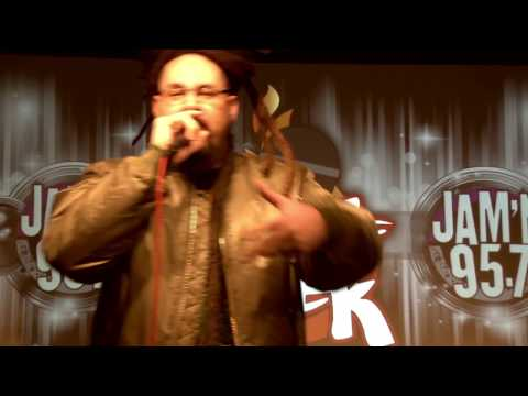 San Diego Hip Hop Freestyle Artists Banish, Jewelz P on Heat of The Week JAM'N 957