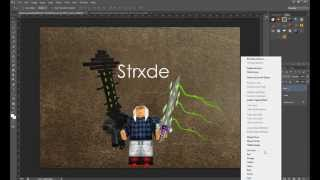 ROBLOX Thumbnail Making (Sped Up 175%)