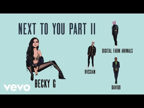Hear Davido Join Becky G, Digital Farm Animals for 'Next to You Part II'