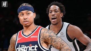 San Antonio Spurs vs Washington Wizards - Full  Highlights | November 20, 2019 | 2019-20 NBA Season