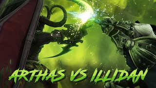 Arthas vs Illidan Legion Edition (WoW machinima) thumbnail