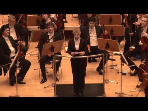 9. Philharmonisches Konzert | Appell der Dirigentin Anu Tali