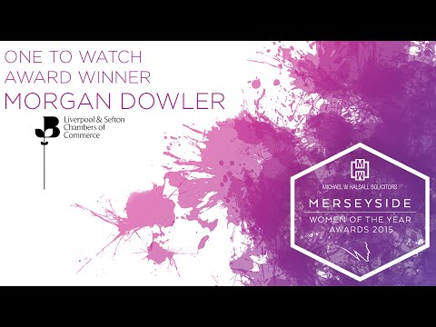 Liverpool & Sefton Chambers of Commerce One to Watch Award Winner - Morgan Dowler
