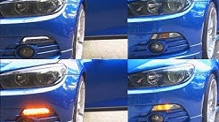 VW Scirocco III carDNA LED Frontblinker Standlicht Smoke