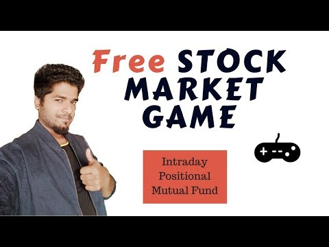 Free Stock Market Game  - Most required for Trading Practise