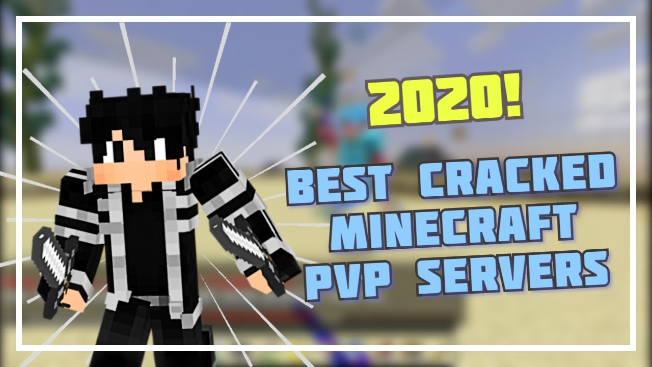 TOP 3 CRACKED MINECRAFT PVP SERVERS 2020 YouTube