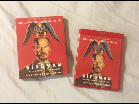 Download Birdman (2014) Blu Ray Review and Unboxing