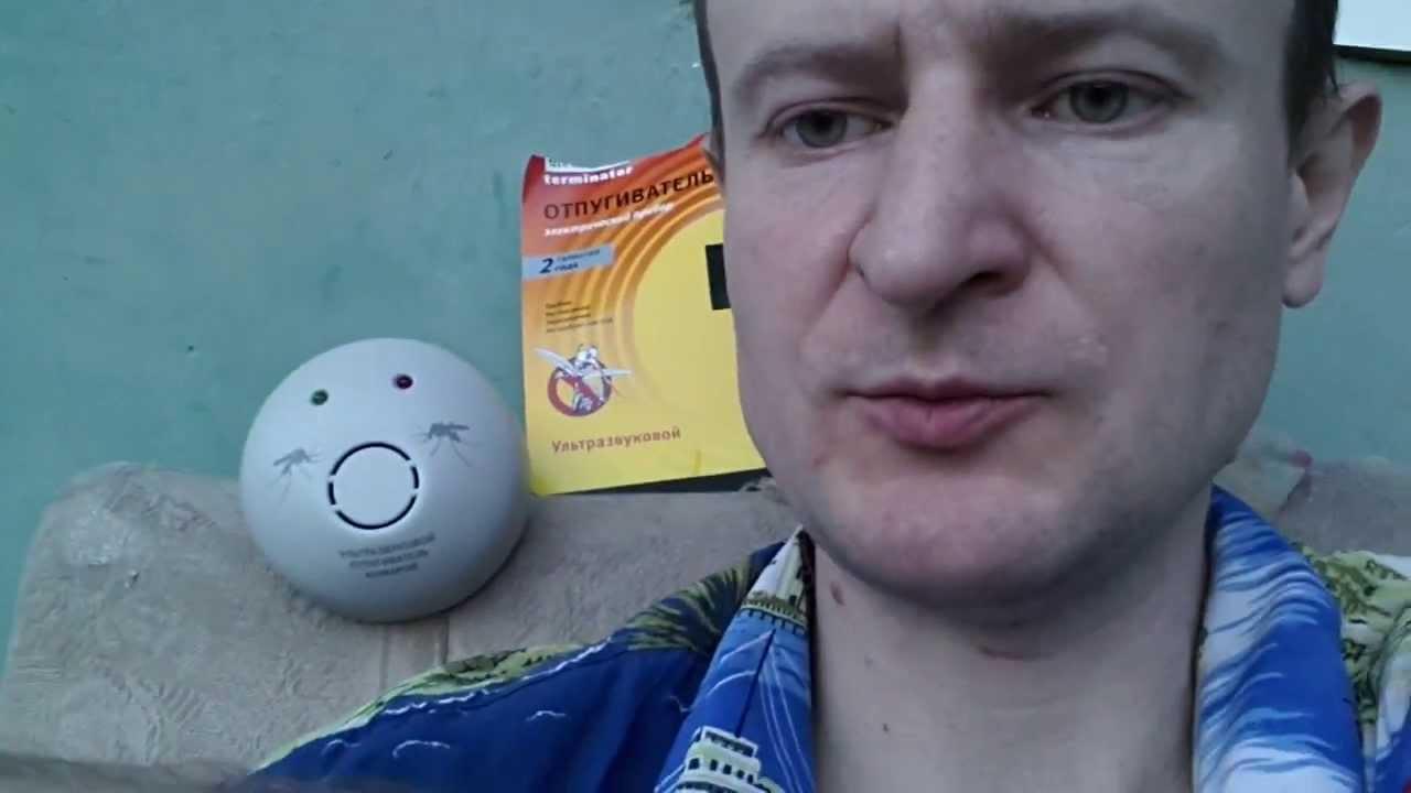 видео ультразвуковой отпугиватель