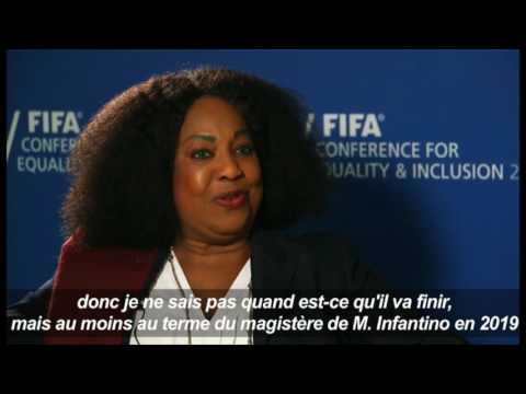 Football: Réaction de FATMA SAMOURA