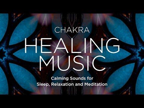 Chakra Relaxing Healing Music with Mandala Visuals | 3 Hours
