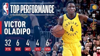 Victor Oladipo Pours In 32 Points As The Pacers STEAL Game 1 in Cleveland
