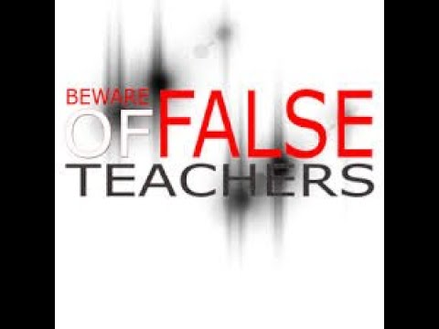 The Dangers of False Teachers and Wrong Doctrine in Churches