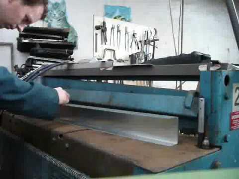 Aluminium radiator build
