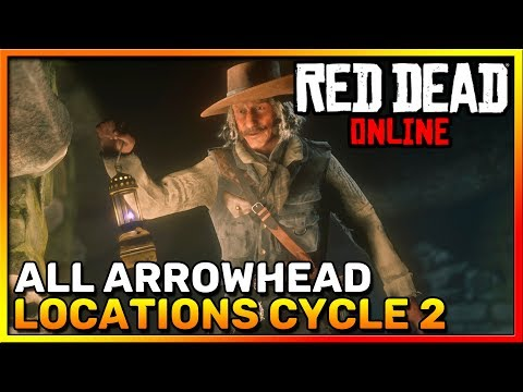Red Dead Online Frontier Pursuits - All Arrowhead Locations Cycle 2 - Madam Nazar - RDR2 Online