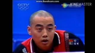 Table Tennis Olympic 2000 Waldner vs Liu Guoliang highlights