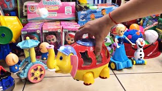 ELEPHANT TOY KEEPS THE BALL IN AIR FUNNY CHILDREN SONGS Read comments from subscribers TOUCAN MAIL