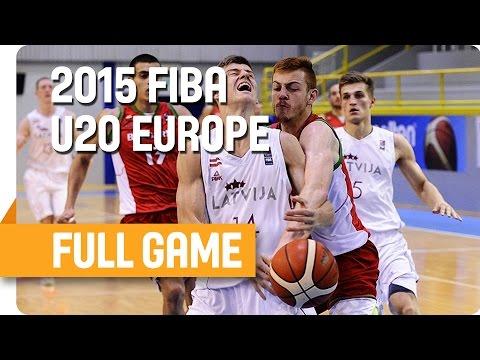 Latvia v Bulgaria - Group B - Full Game - U20 European Championship Men